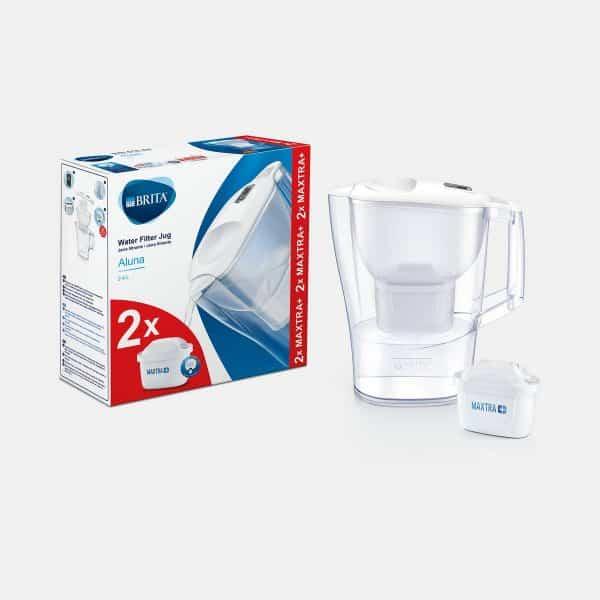 BRITA Aluna mxplus white water filter jug
