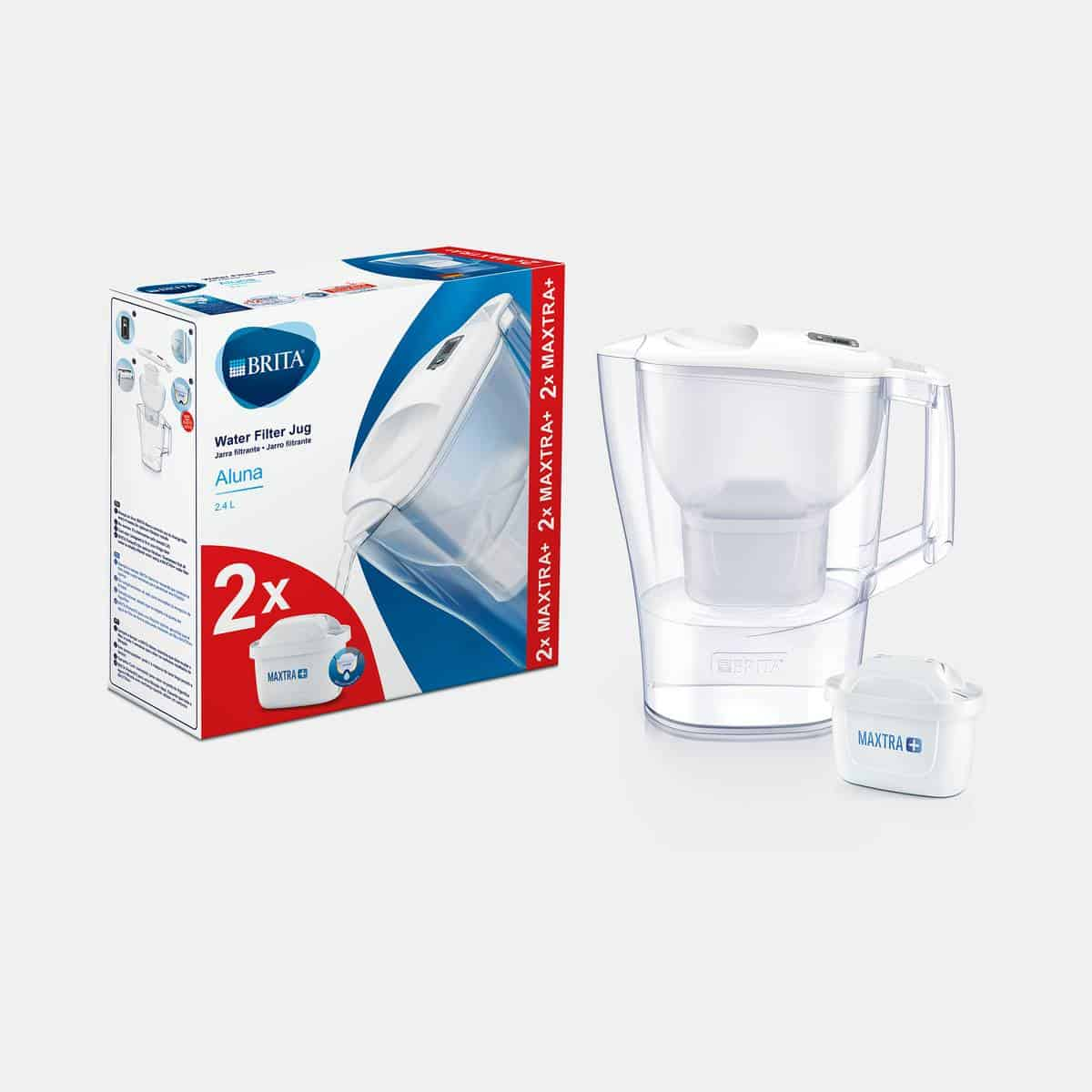 BRITA Aluna mxplus white water filter jug