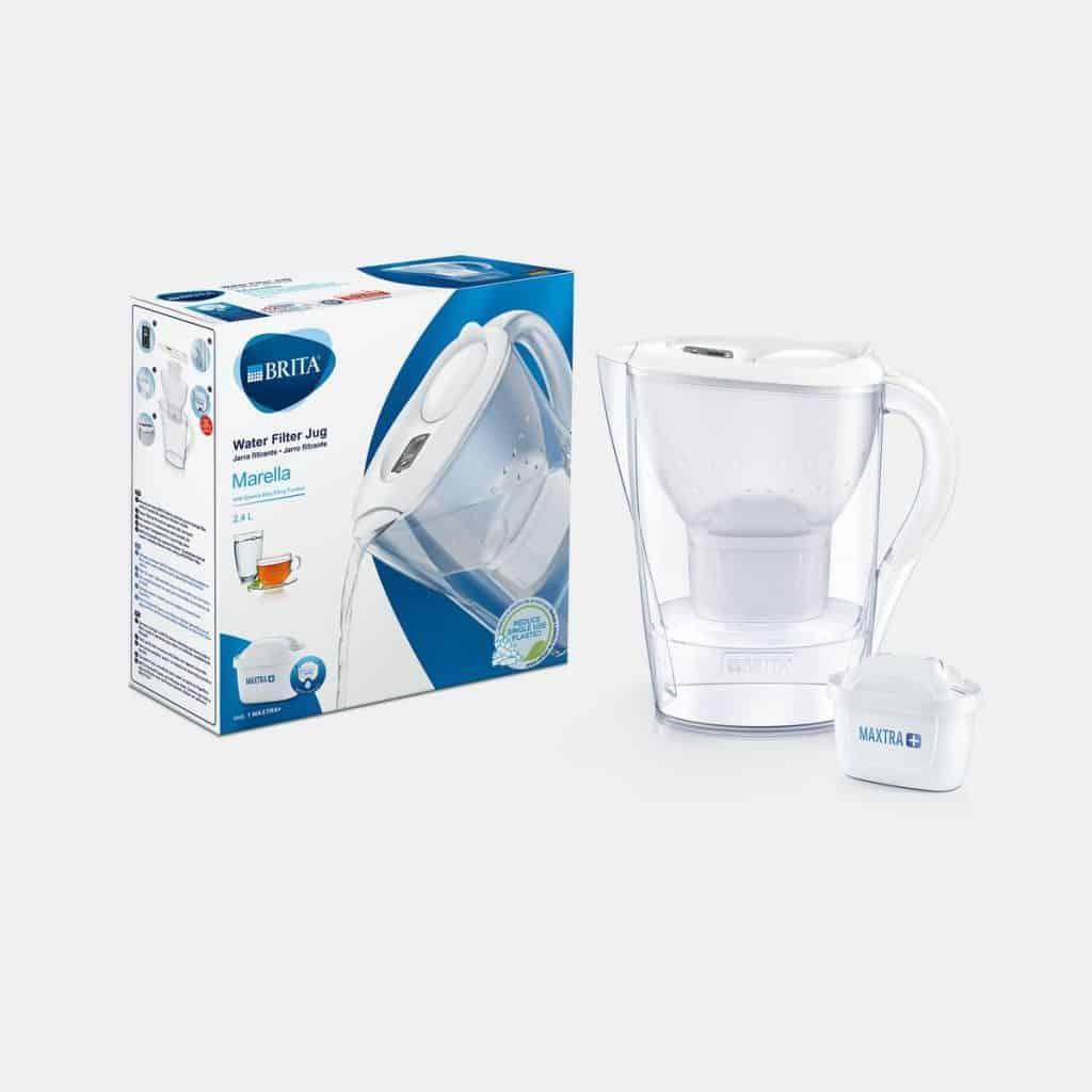 BRITA MARELLA mxplus Memo White Water Filter Jug