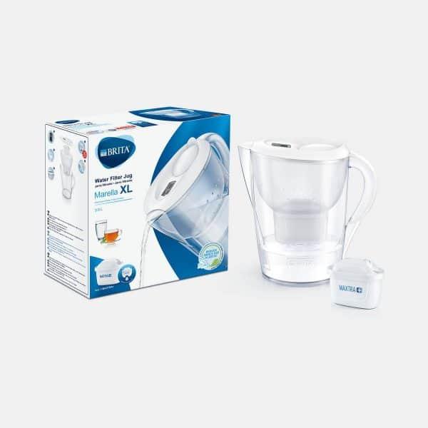 BRITA Marella XL white water filter jug