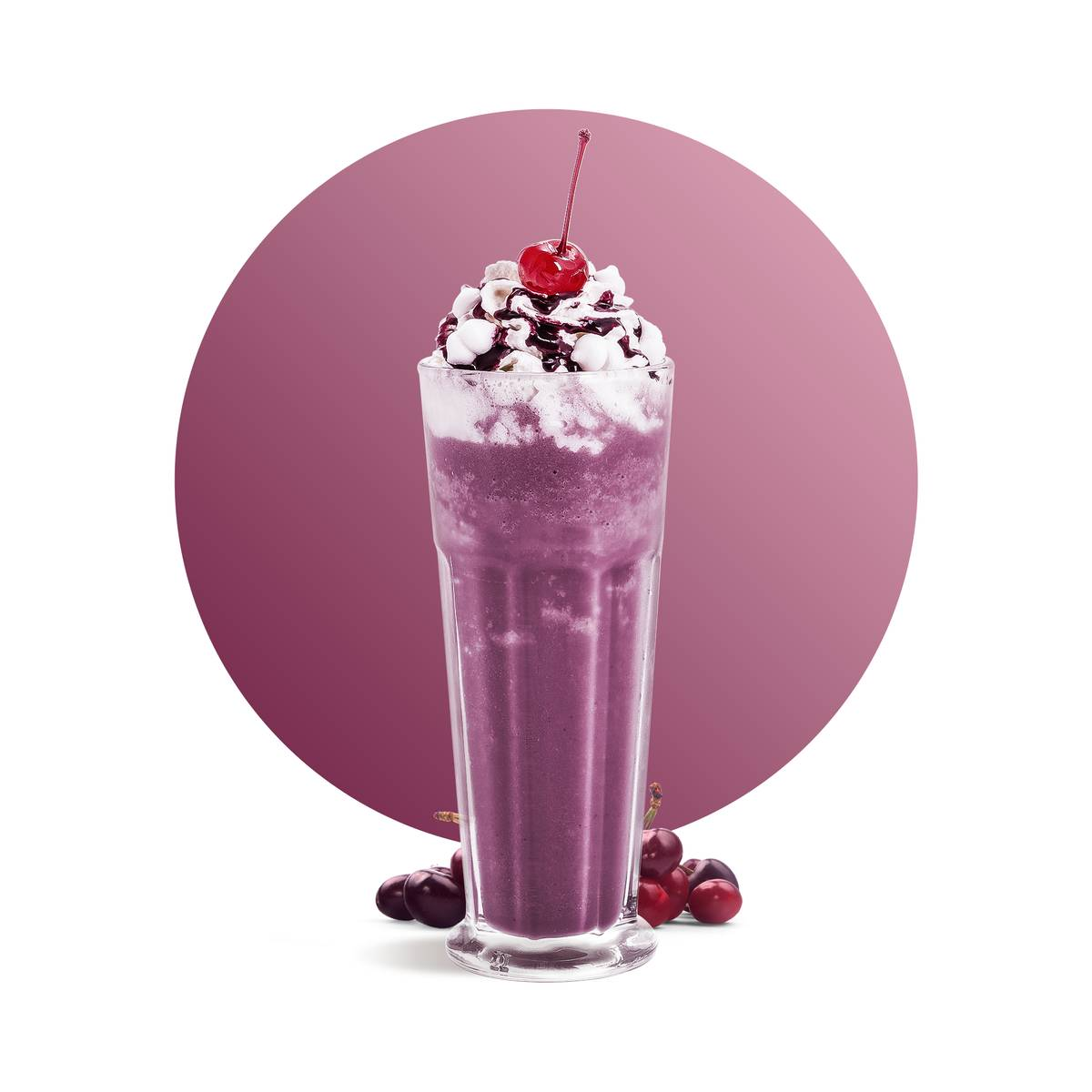 Cherry Cake Milkshake Recipe