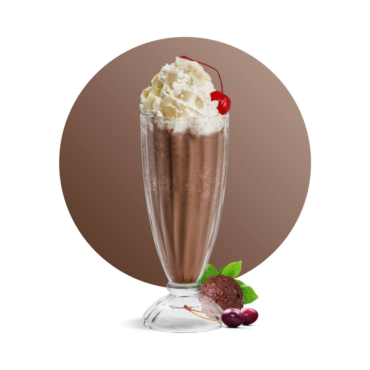 Cherry Chocolate Frappe Drink Recipe