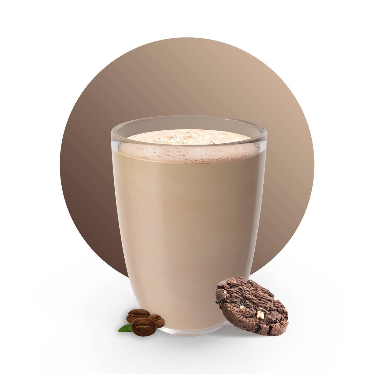 Chocolate Cookies Flat white Drink Recipe