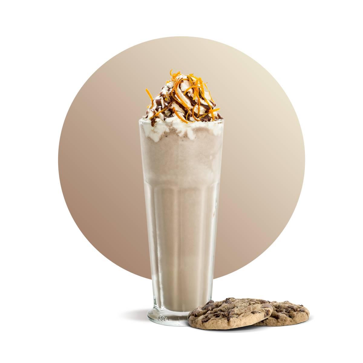 Chocolate Cookies Milkshake Drink