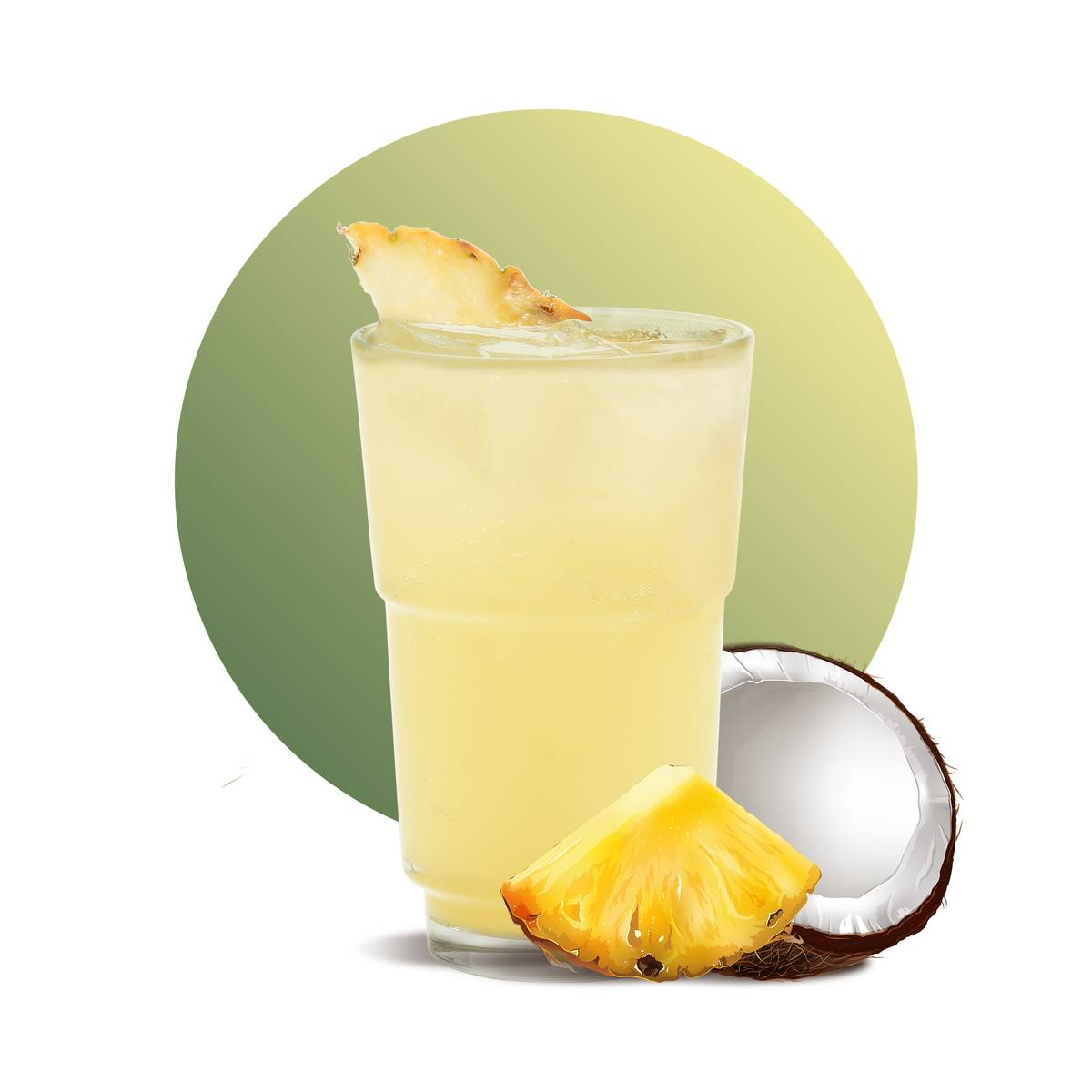 Coconut Pineapple Drink