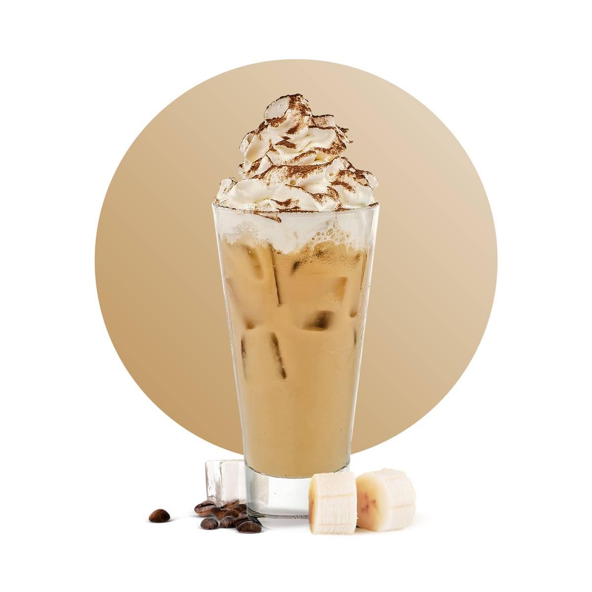 Coffee Banana Latte Drink Recipe