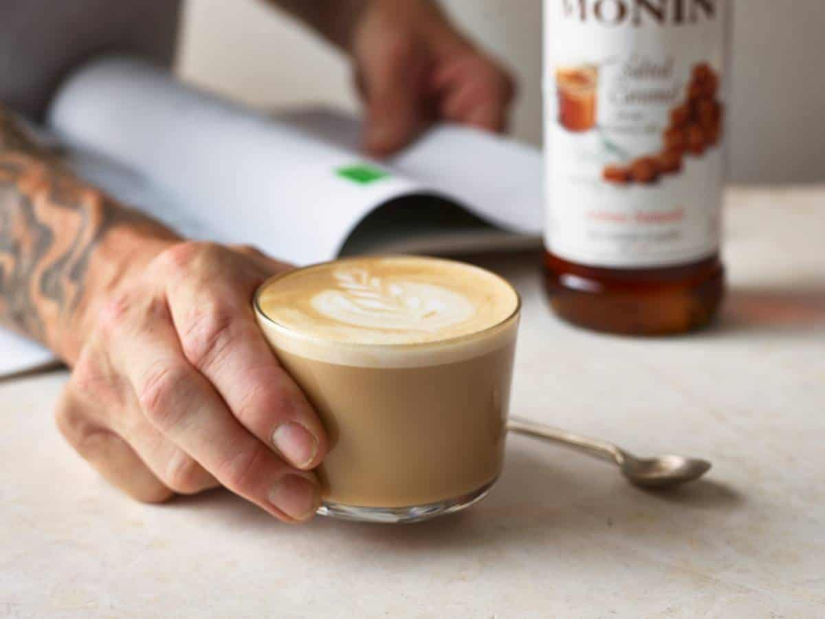 Coffee Lovers Cappuccino with Monin Barista