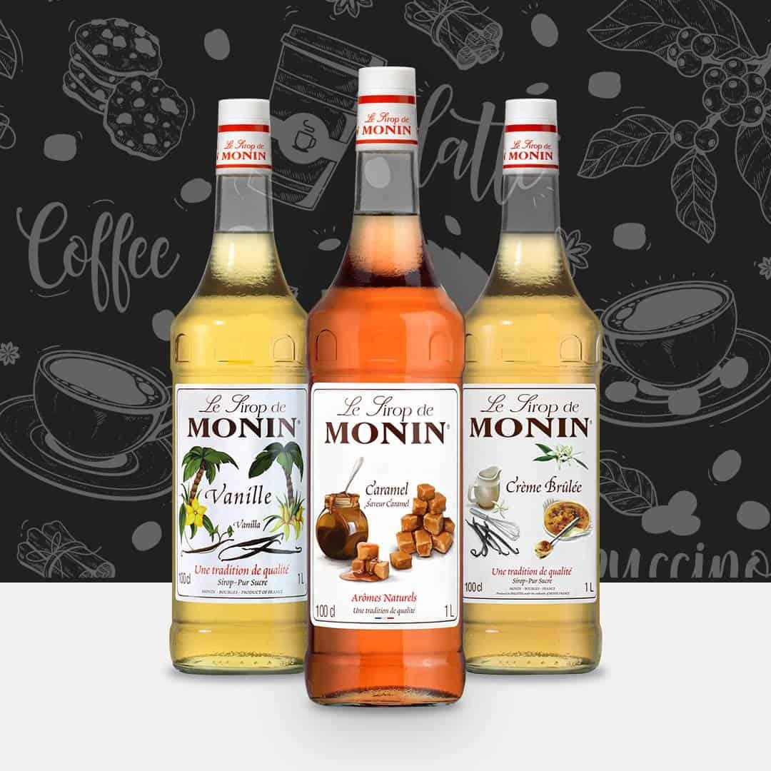 Monin Coffee Lovers Syrup Bundle