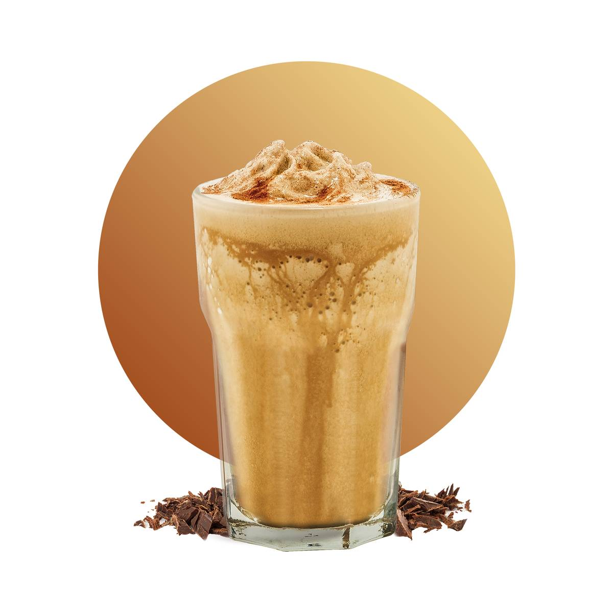 Cold Brew Choco Frappe Drink