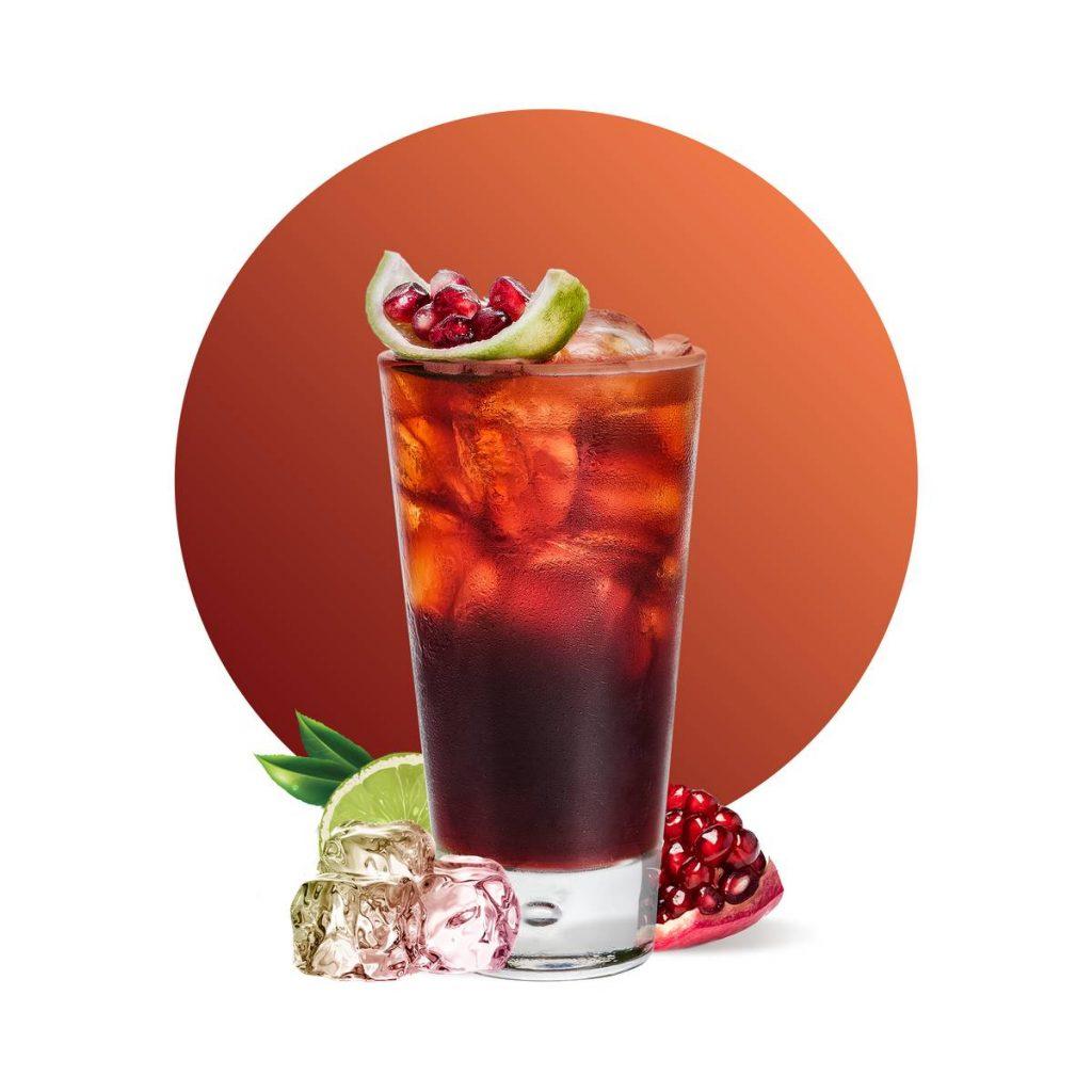 Cranberry Pomegranate Cooler Drink