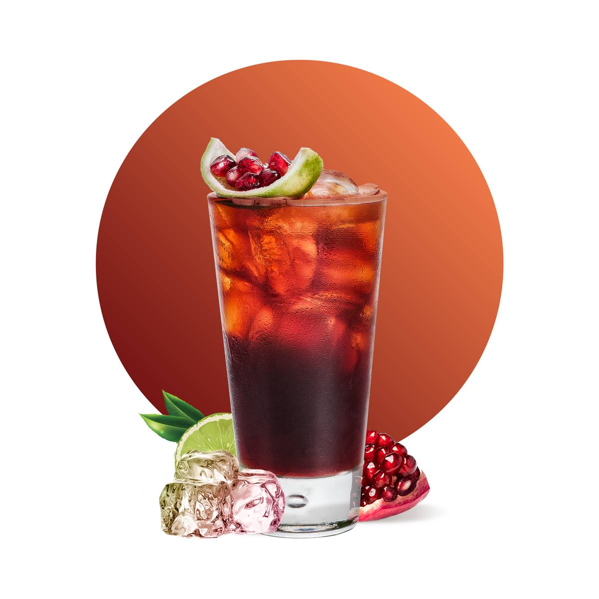 Cranberry Pomegranate Cooler Drink