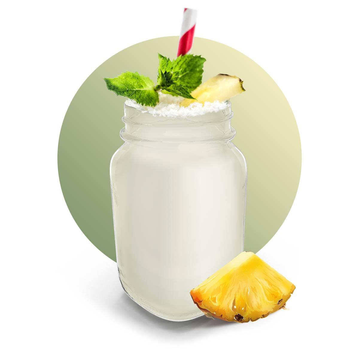 Creamy Pina Colada Drink Recipe