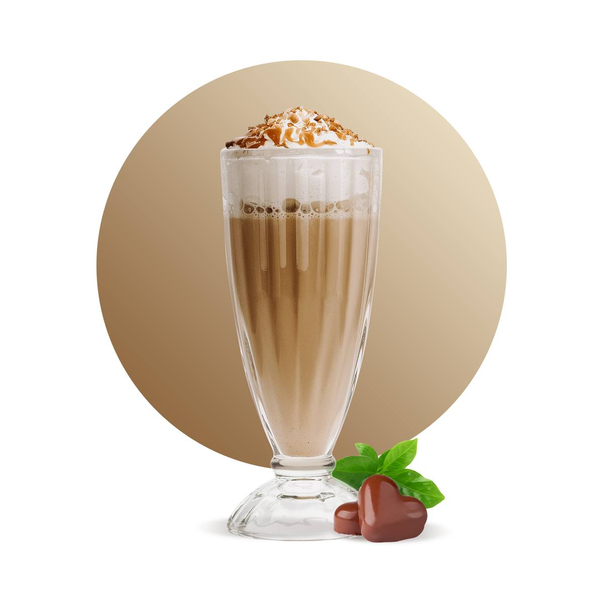 Creme Brulee Chocolate Frappe Drink Recipe