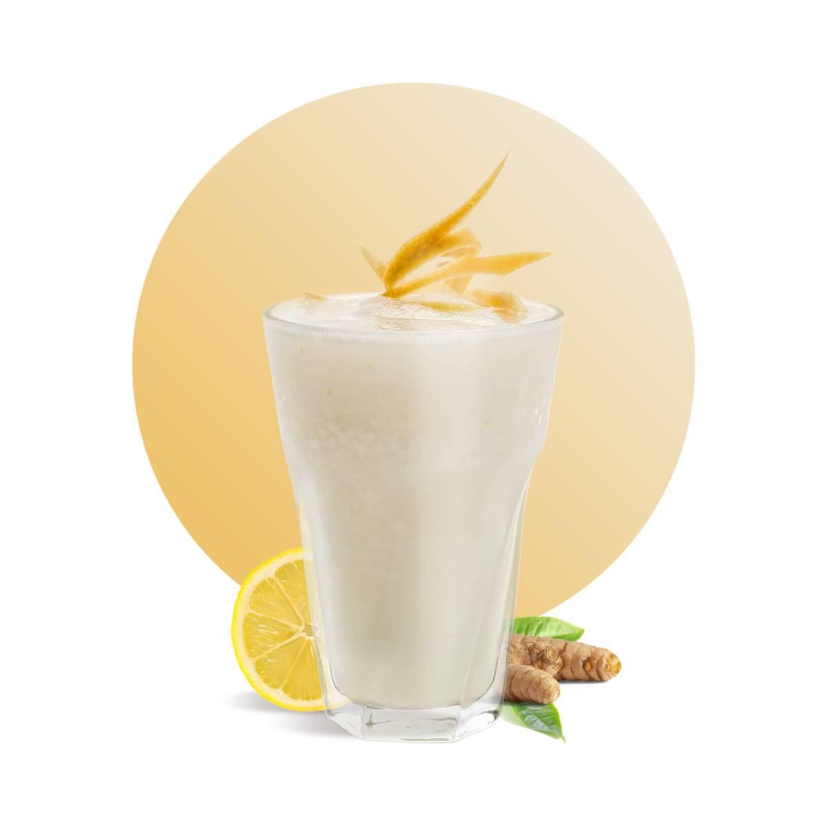 Frozen Ginger Lemonade Drink Recipe