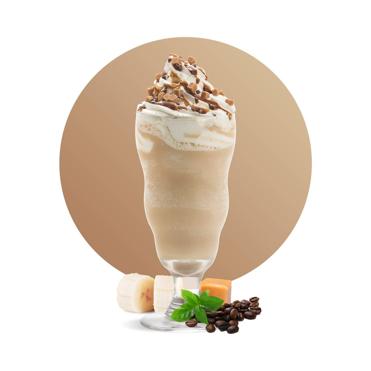 Fruity Coffee Frappe Drink Recipe