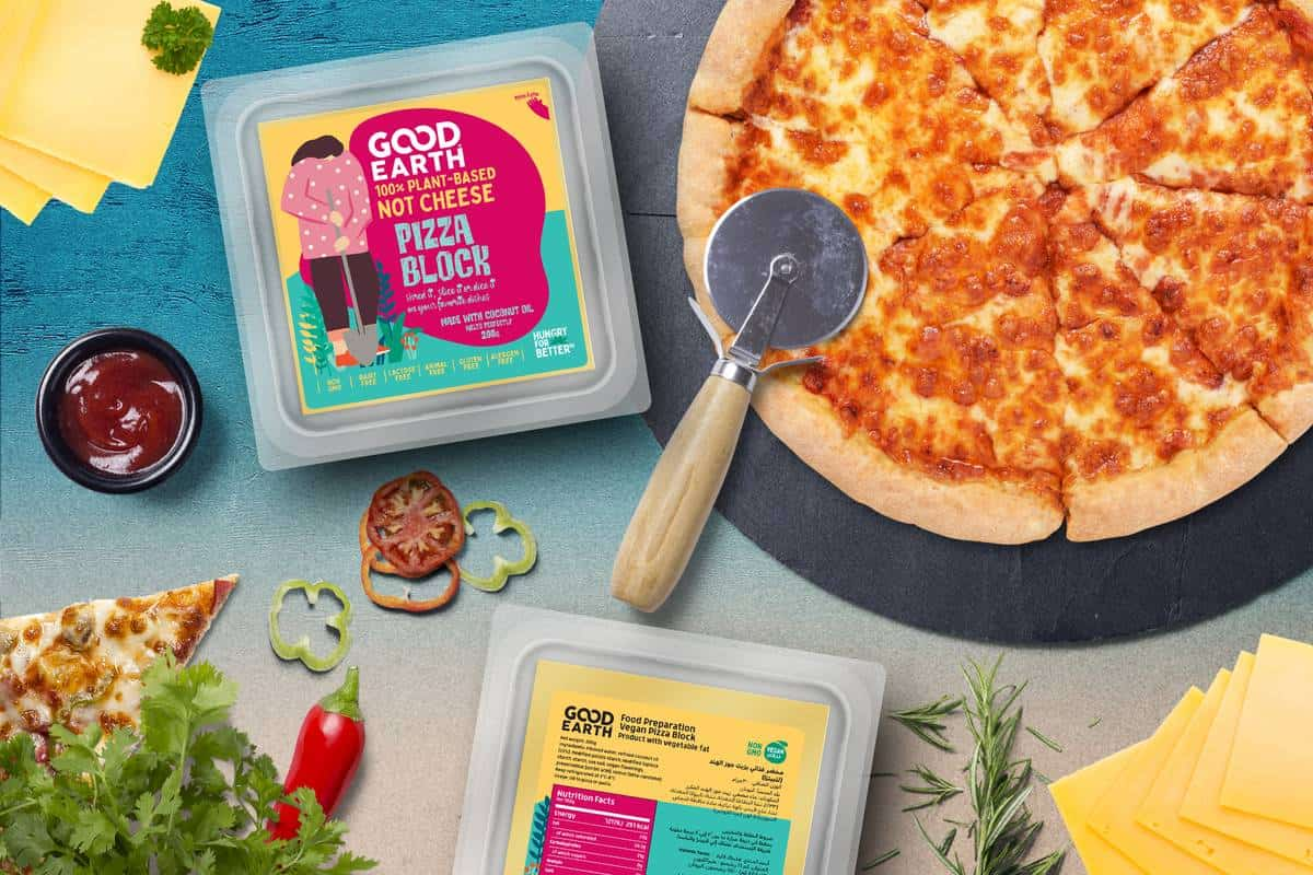 Good Earth Vegan Pizza Block