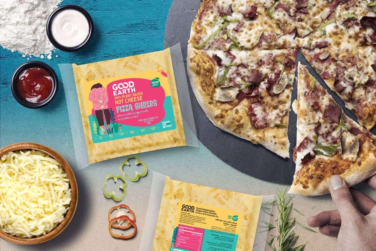 Good Earth Vegan Pizza Shreds
