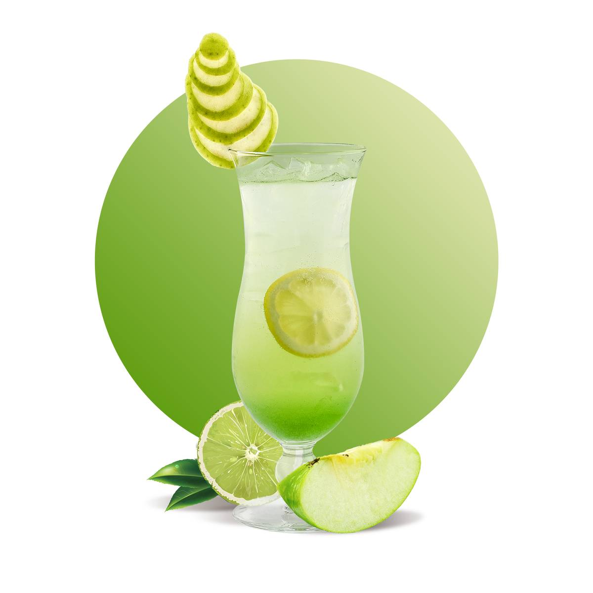 Green Apple Soda Drink Recipe