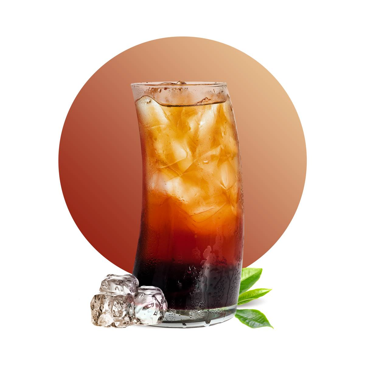 Grenadine Tea Soda Drink Recipe
