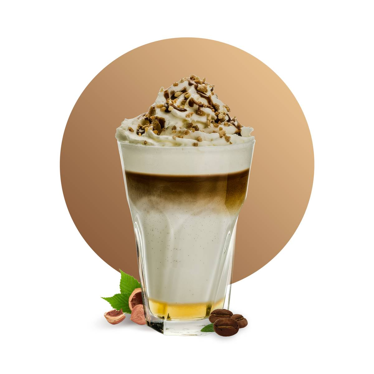Hazelnut Latte Drink Recipe