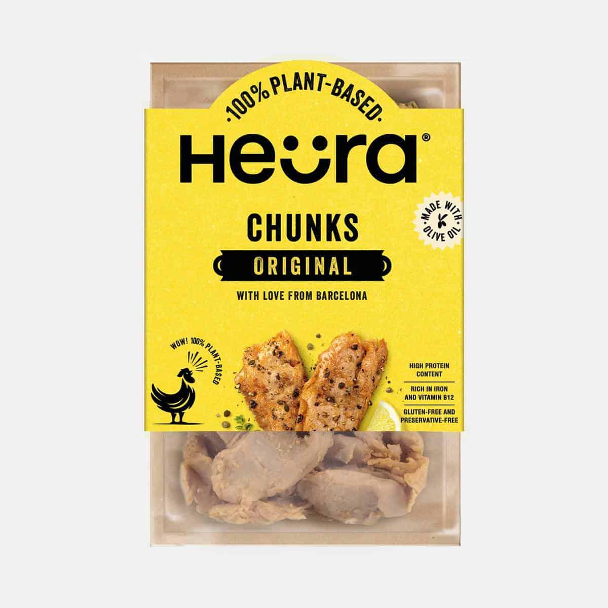 Huera Plant-Based Original Chunks 160g