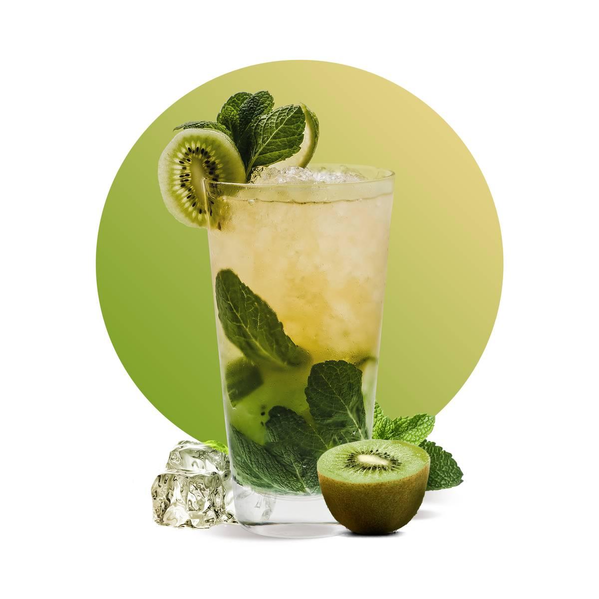 Kiwi Virgin Mojito Drink Recipe