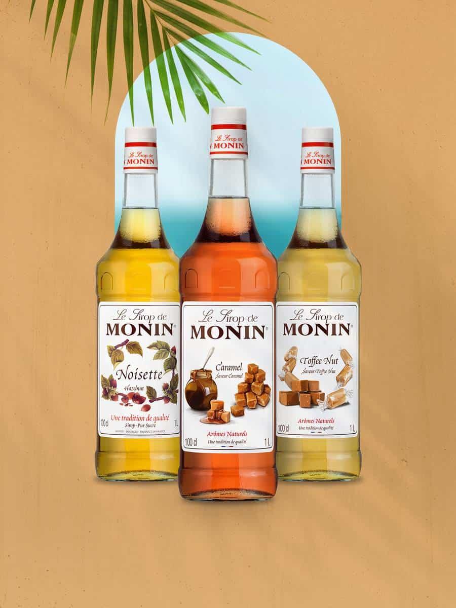 Monin Coffee Lovers Syrup Bundle Offer