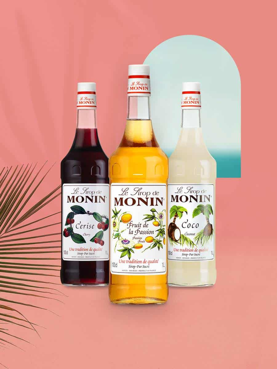 Monin Summer Fruit Syrups Offer Bundle