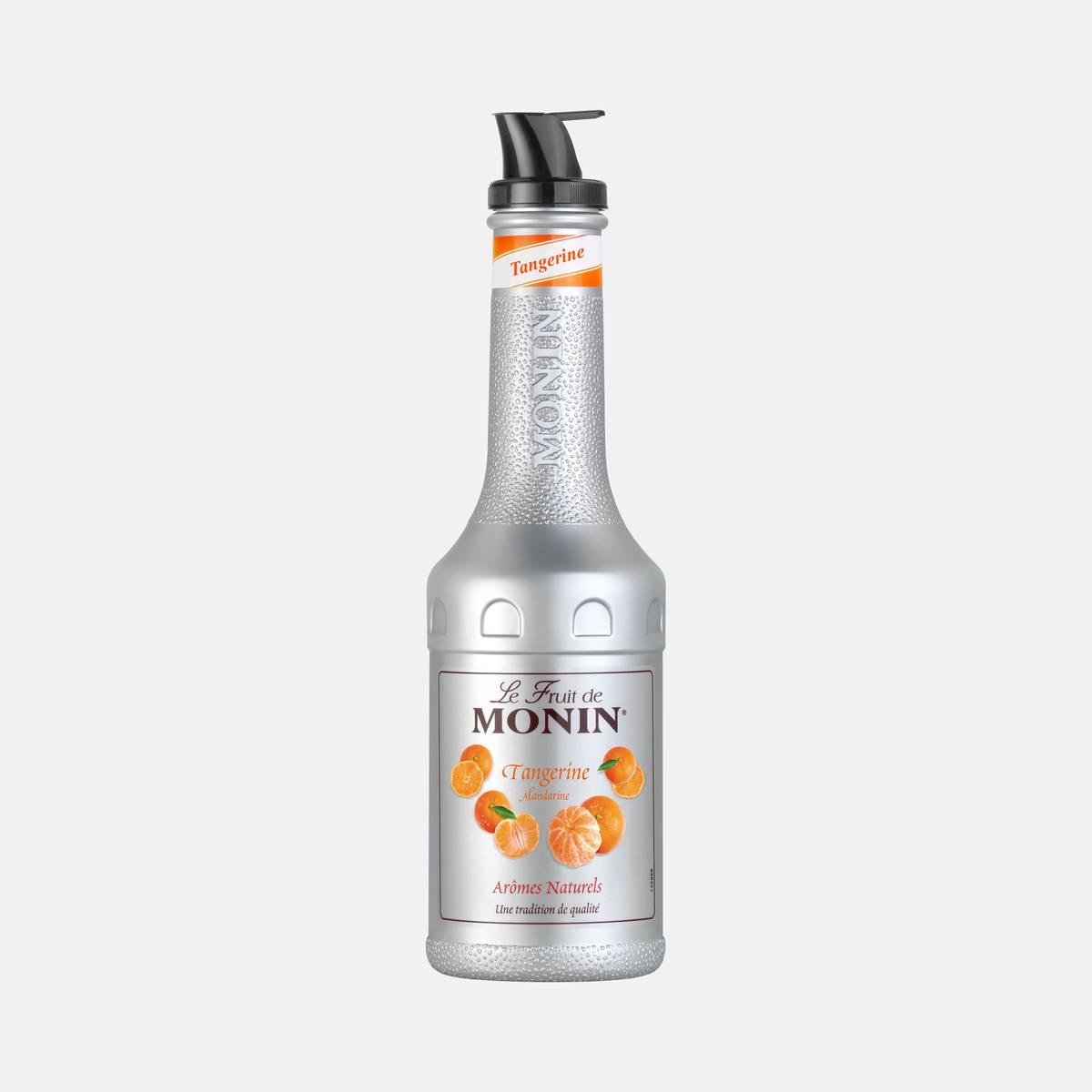 Monin Tangerine Puree 1 Liter Bottle