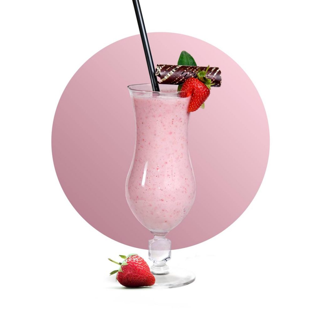 Oat Strawberry Milkshake Recipe