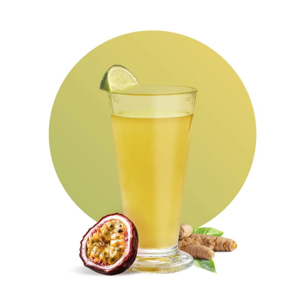 Passion Fruit Ginger Hot Lemonade Drink Recipe