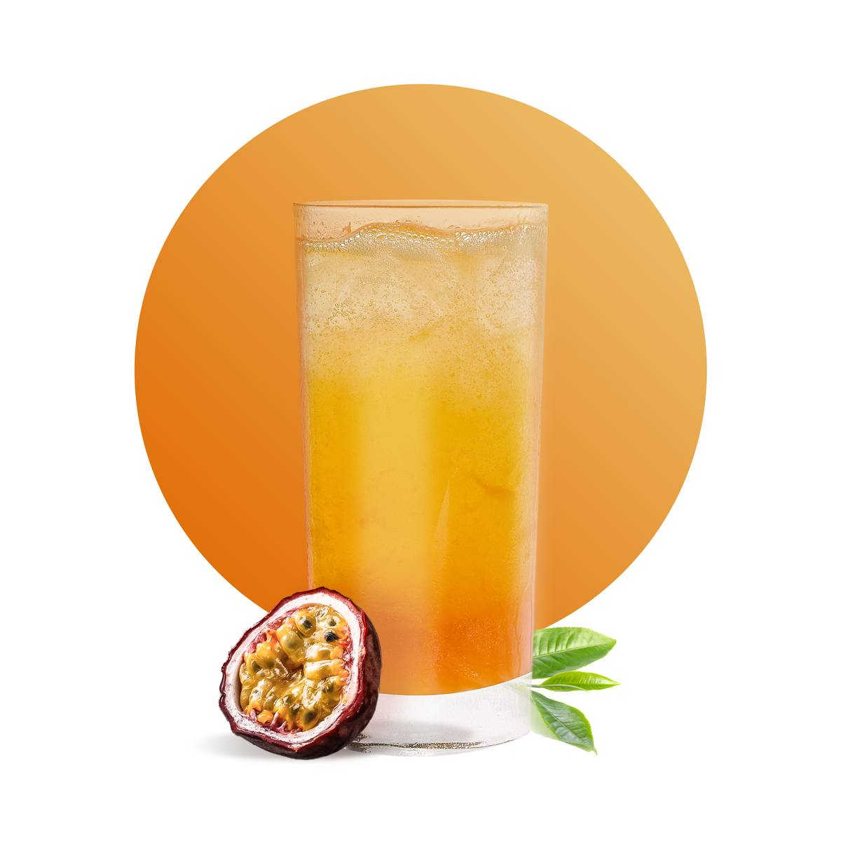 Passion Fruit Iced Tea Drink Recipe