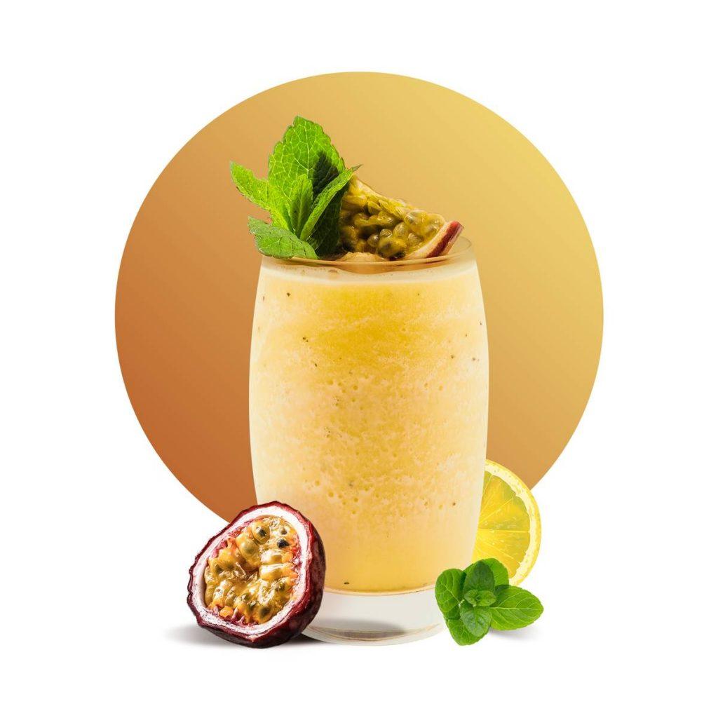 Passion Lemon Mint Drink Recipe