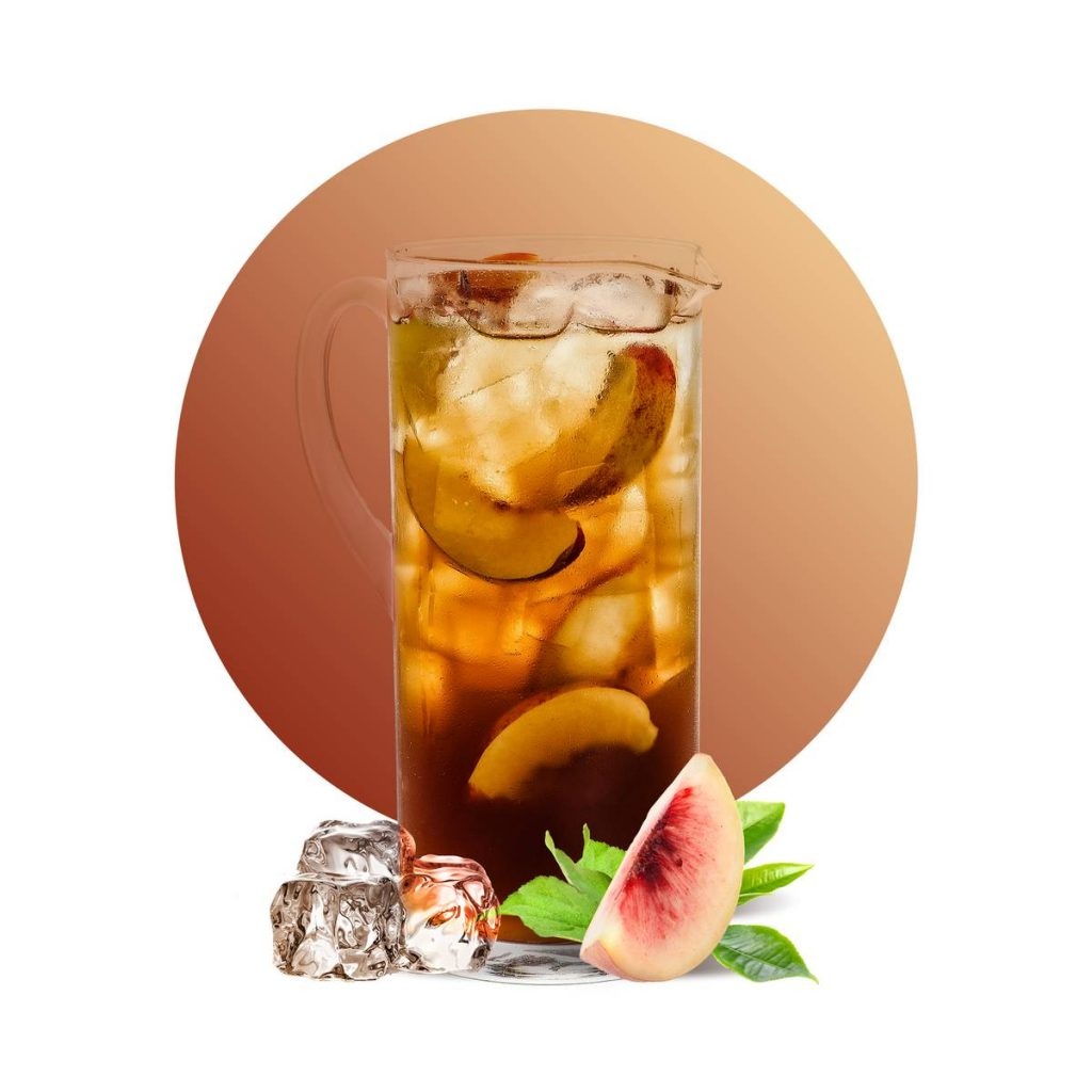 Peach Elder flower Iced Tea Drink Recipe
