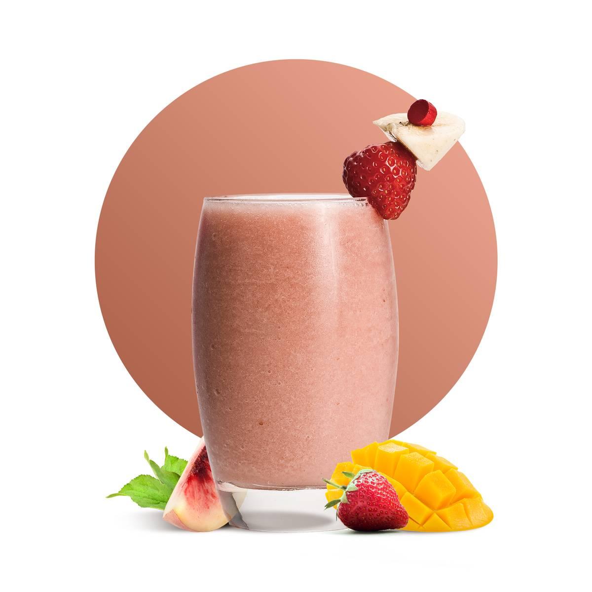 Peach Strawberry Mango Delight Recipe