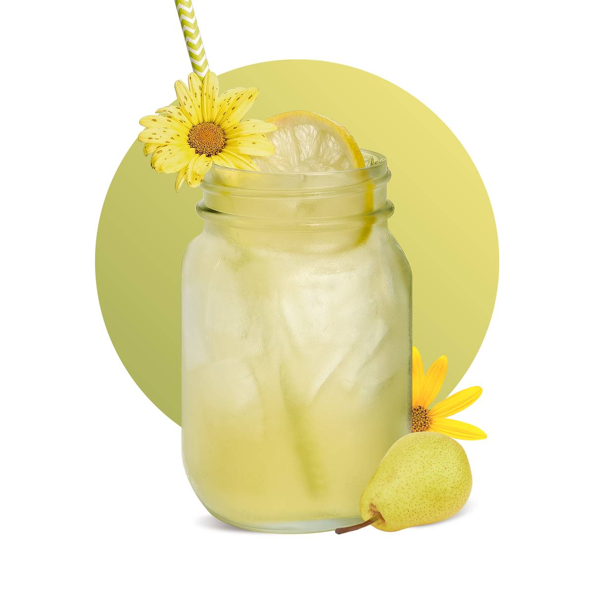 Pear Elderflower Lemonade Recipe