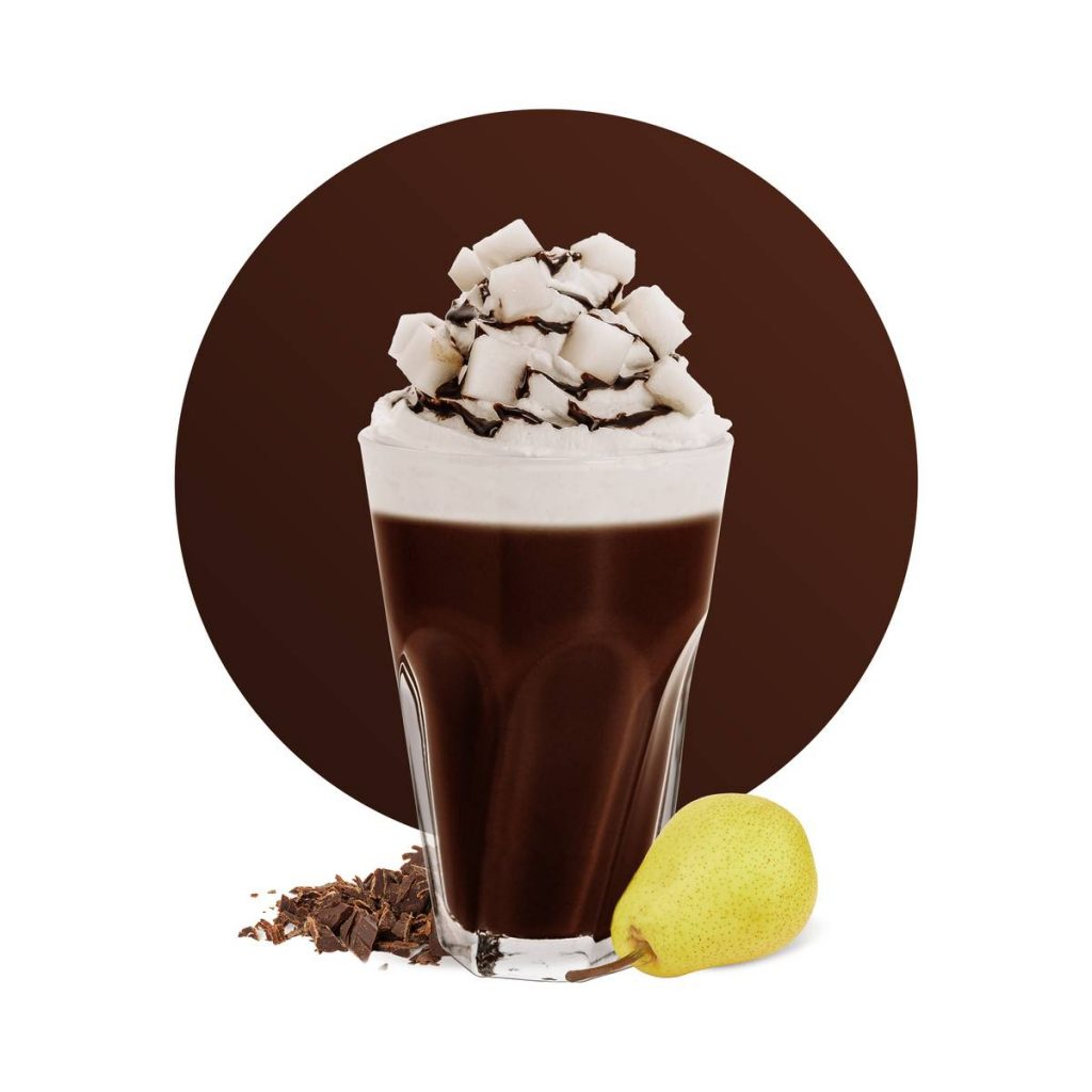 Pear Hot Chocolate Drink Recipe
