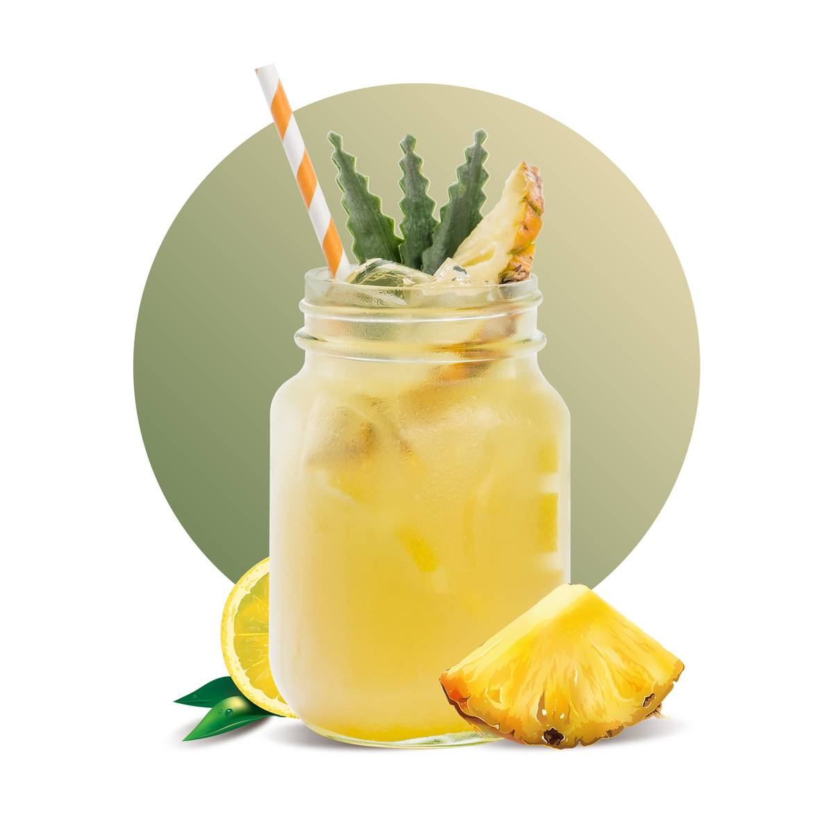 Pineapple Lemonade Drink Recipe
