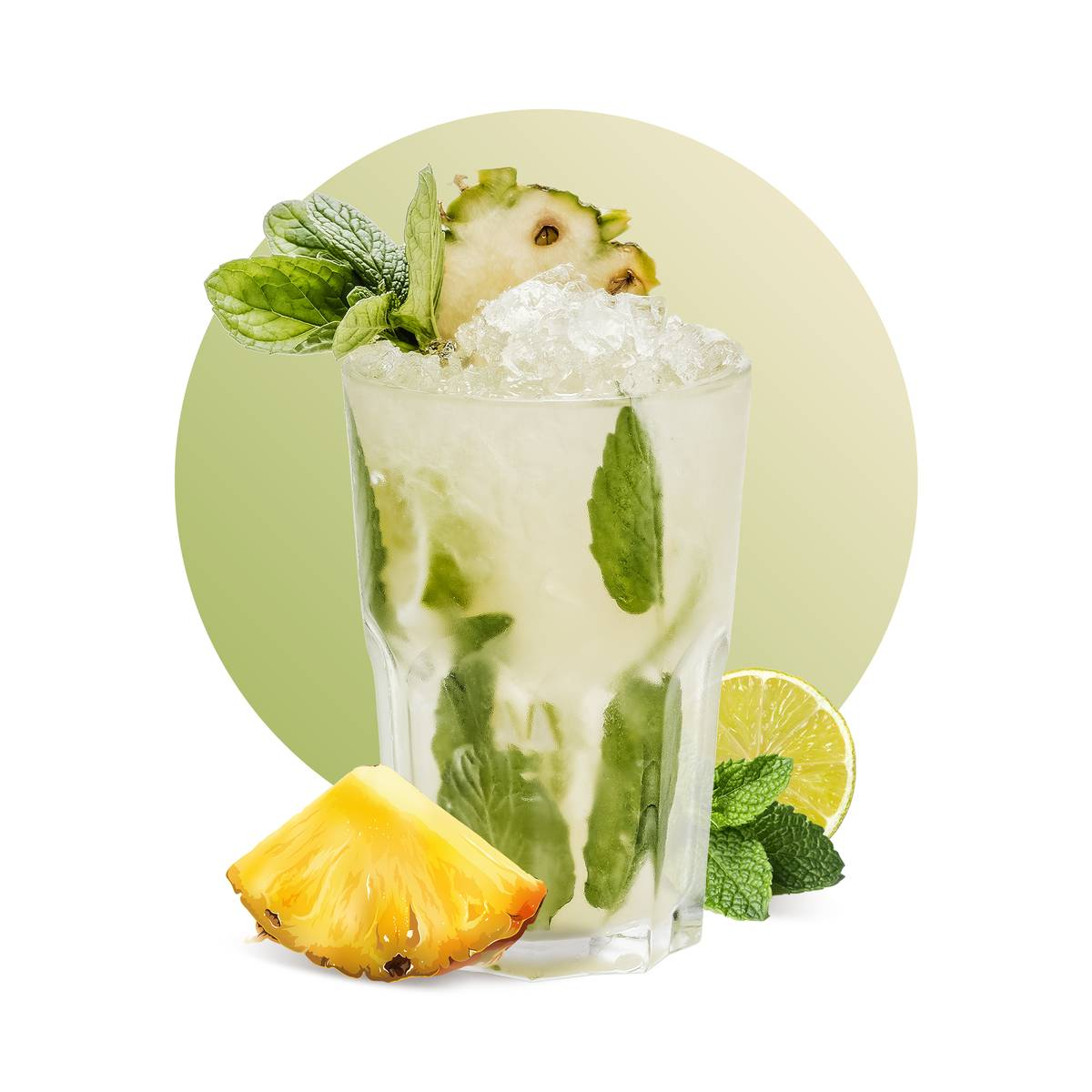 Pineapple Mojito Drink Recipe