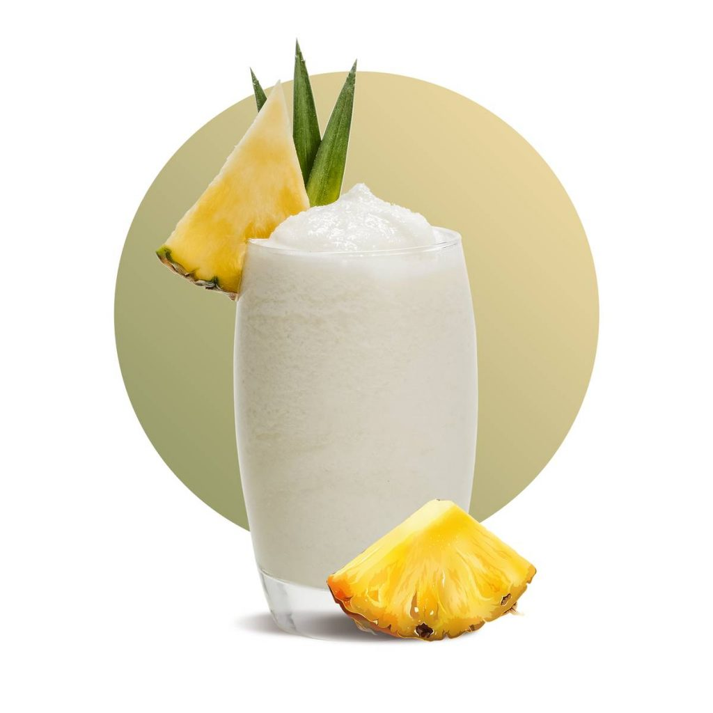 Pineapple Yoghurt Smoothie Drink Recipe