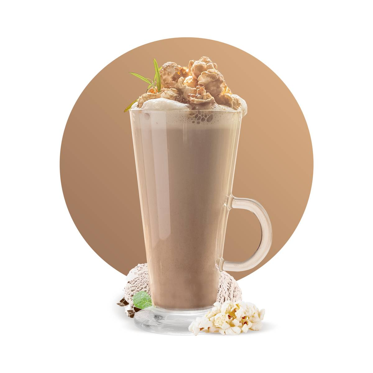 Popocorn Latte Drink Recipe