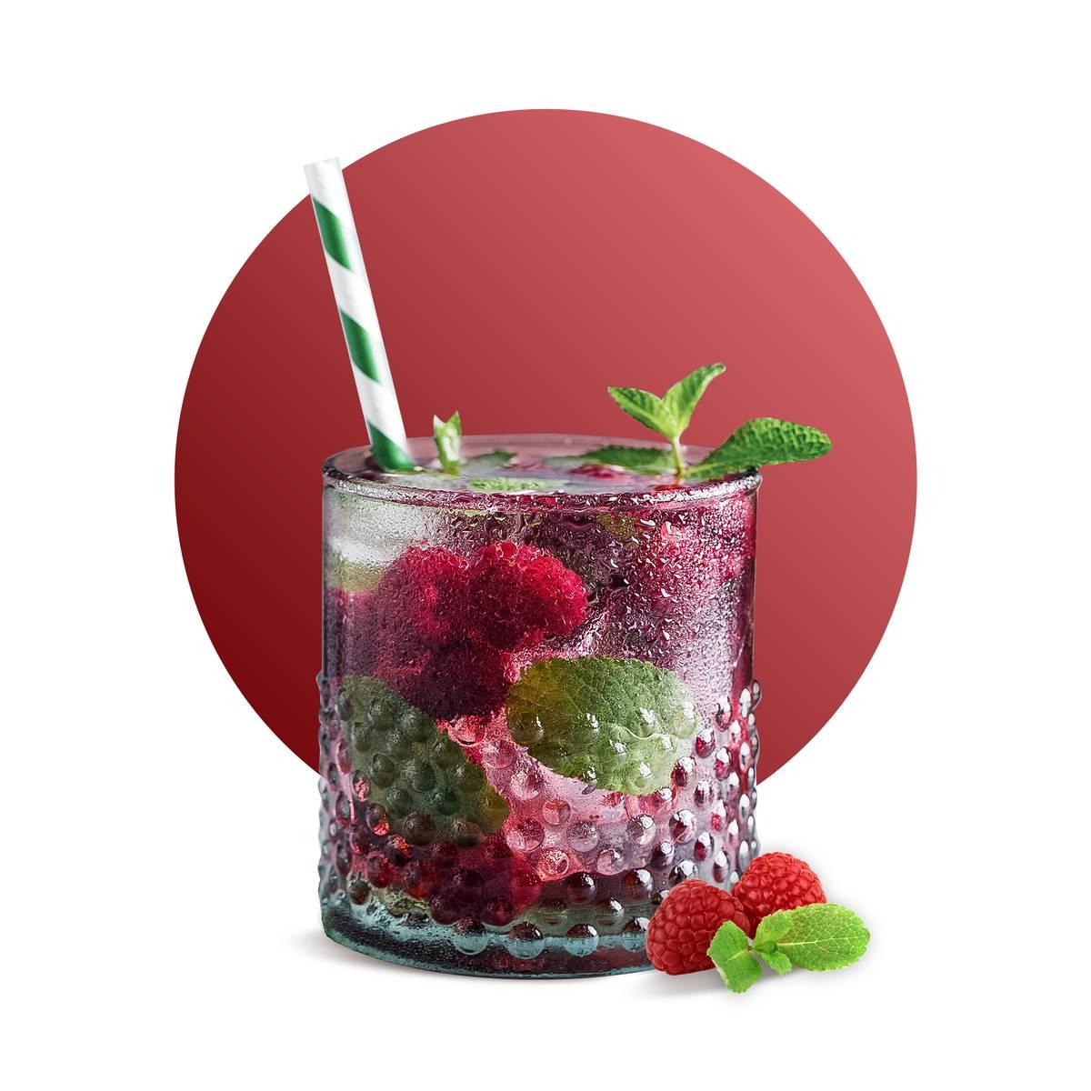Raspberry Mojito Drink Recipe