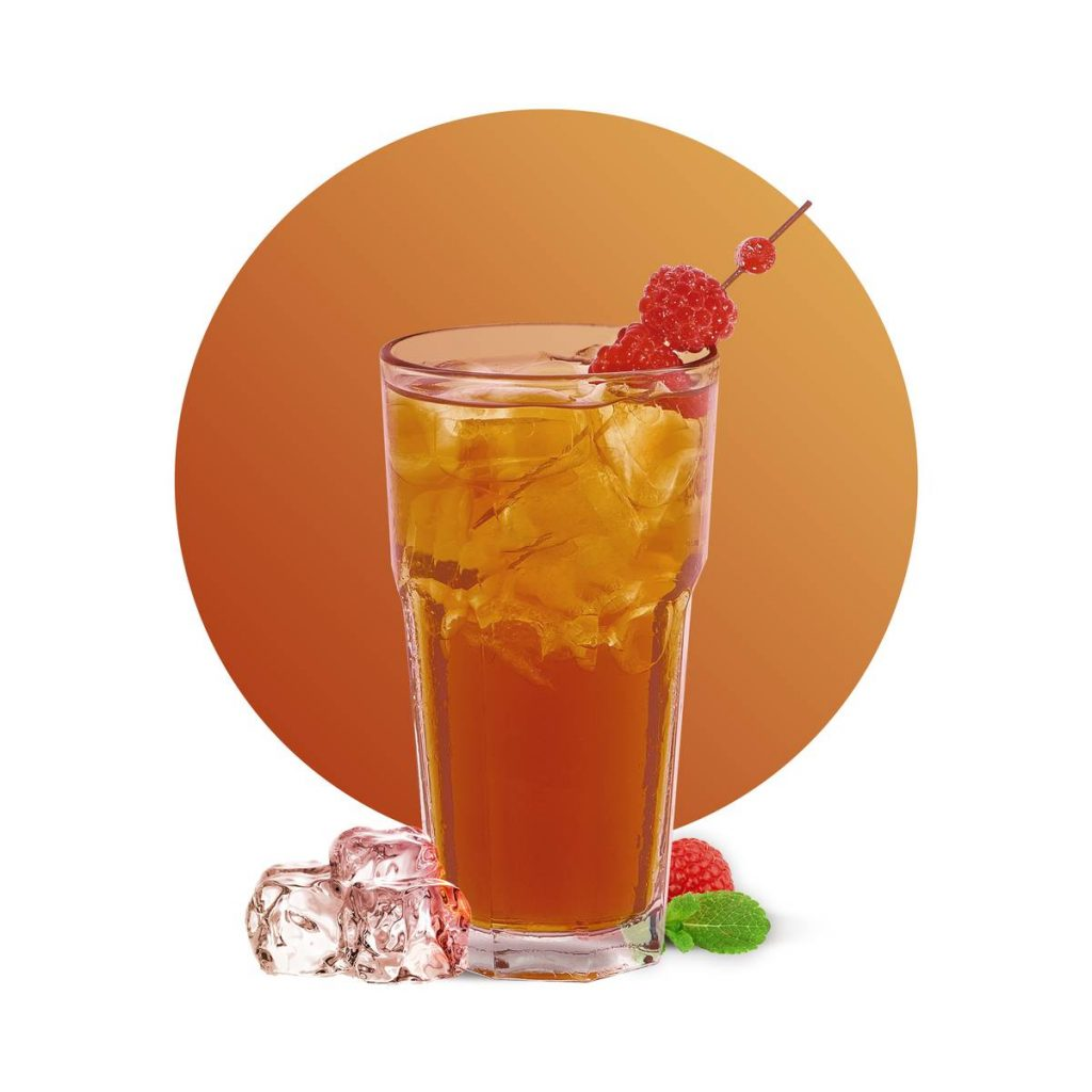 Raspberry Sparkling Iced Tea Recipe