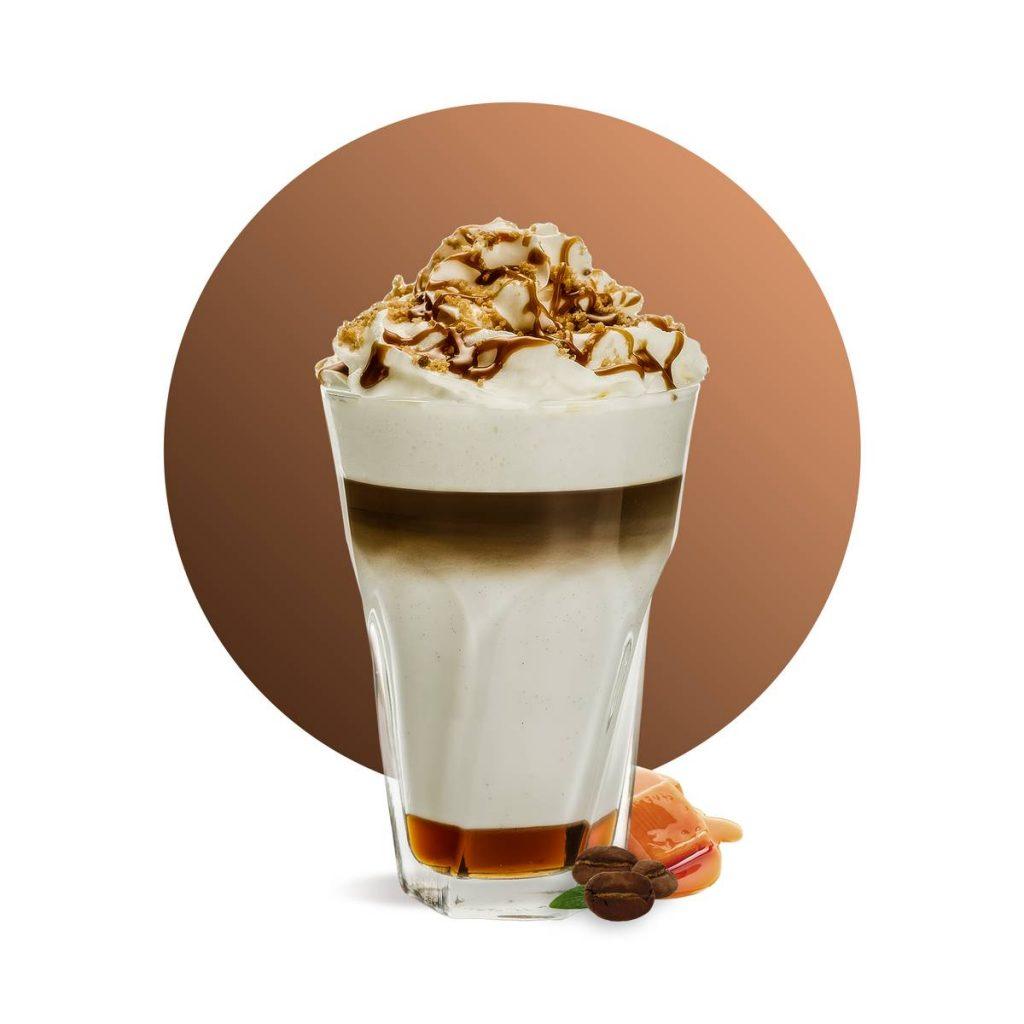 Salted Caramel Latte Drink Recipe