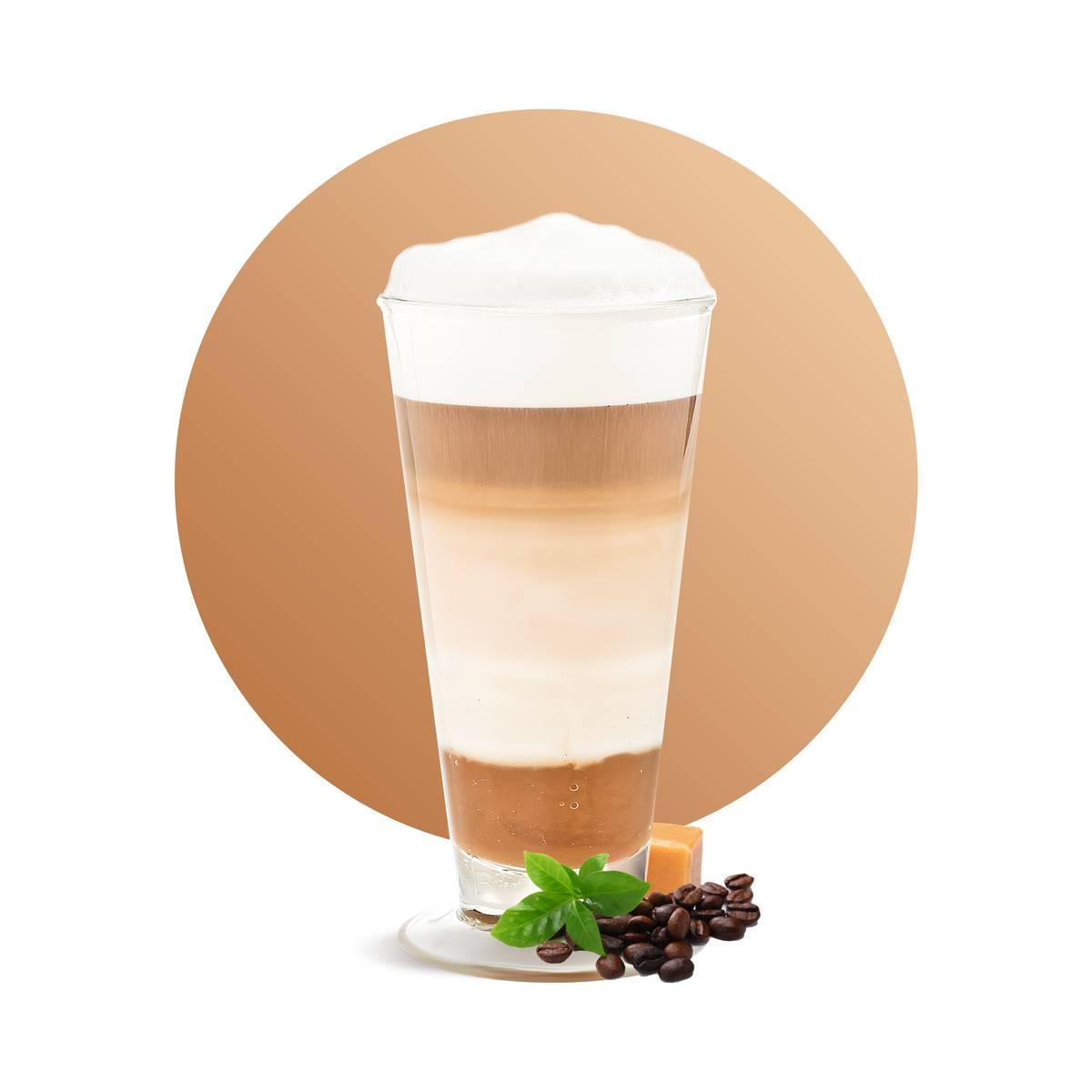 Salted Caramel Speculoos Latte Drink Recipe