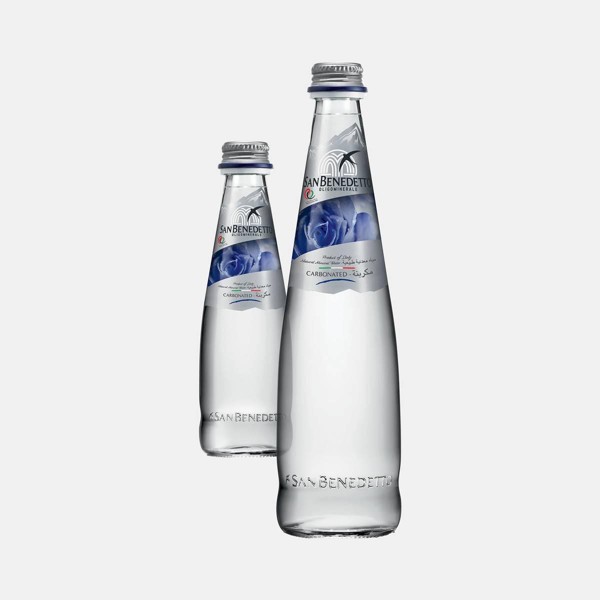 San Benedetto Prestige Sparkling Glass Bottle Water