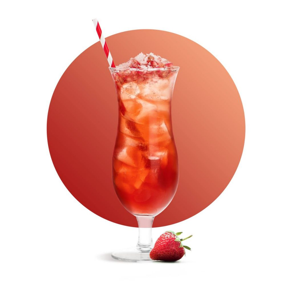 Strawberry Iced Tea Drink Recipe