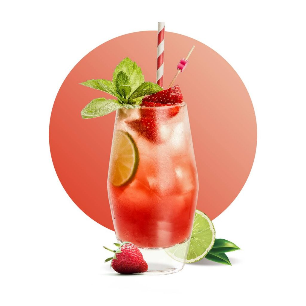 Strawberry Lemonade Drink