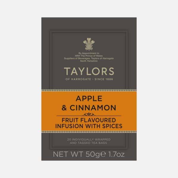 Taylors of Harrogate Apple and Cinnamon Tea 20s Pack