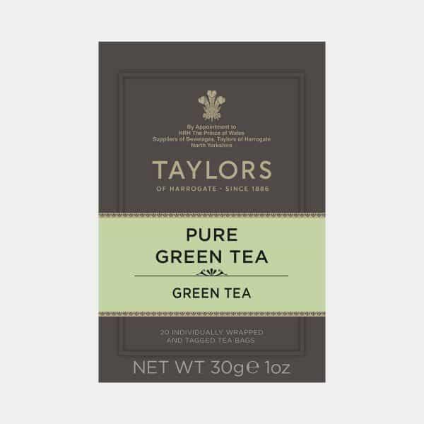 Taylors of Harrogate Pure Green Tea 20s Pack
